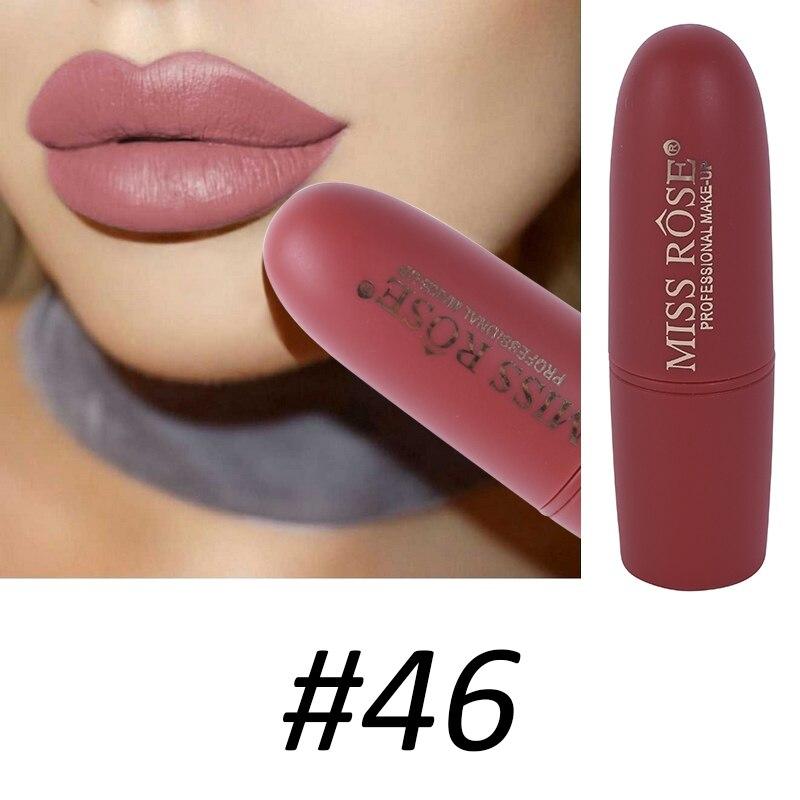 Women Makeup Lips Sexy Matte Lipstick Waterproof Velvet Batom Pigments Moisturizer Lipstick Matte Lips maquiagem New 18 17