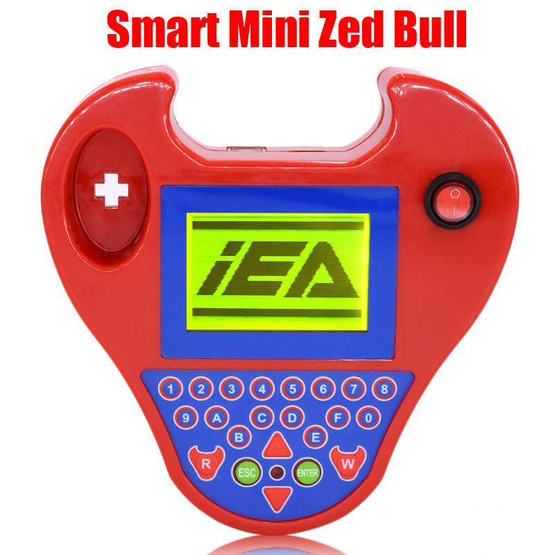 Auto car key Programmer smart mini zed bull car transponder tool ZED BULL Multi-Language Car kits car key chip reader mini smart zed bull multifunction car keys matching instrument red blue