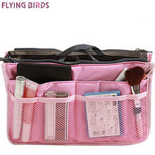 FLYING BIRDS! women bags Multifunction Makeup Bag waterproof Shockproof Cosmetic Bag Travel Bags Ladies Bolsos LM2136