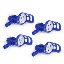 4pcs Plastic Motor Frames With Wheel Gear For SYMA X5/X5C Four-Axis RC Model Airplane Quadcopter,