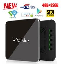 H96 Max X2 Smart TV Box Android 8.1 S905X2 Quad Core 2GB/16G