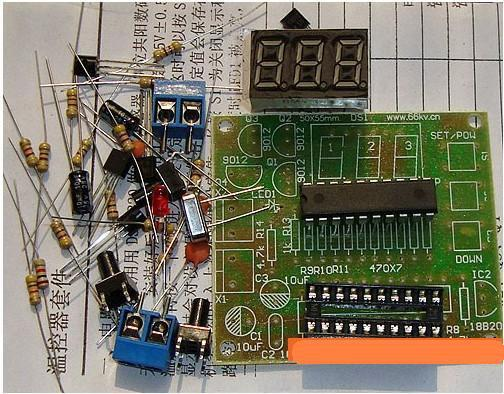ge defrost timer wiring diagram diy ds18b20 + at89c2051 microcontroller temperature ... #8