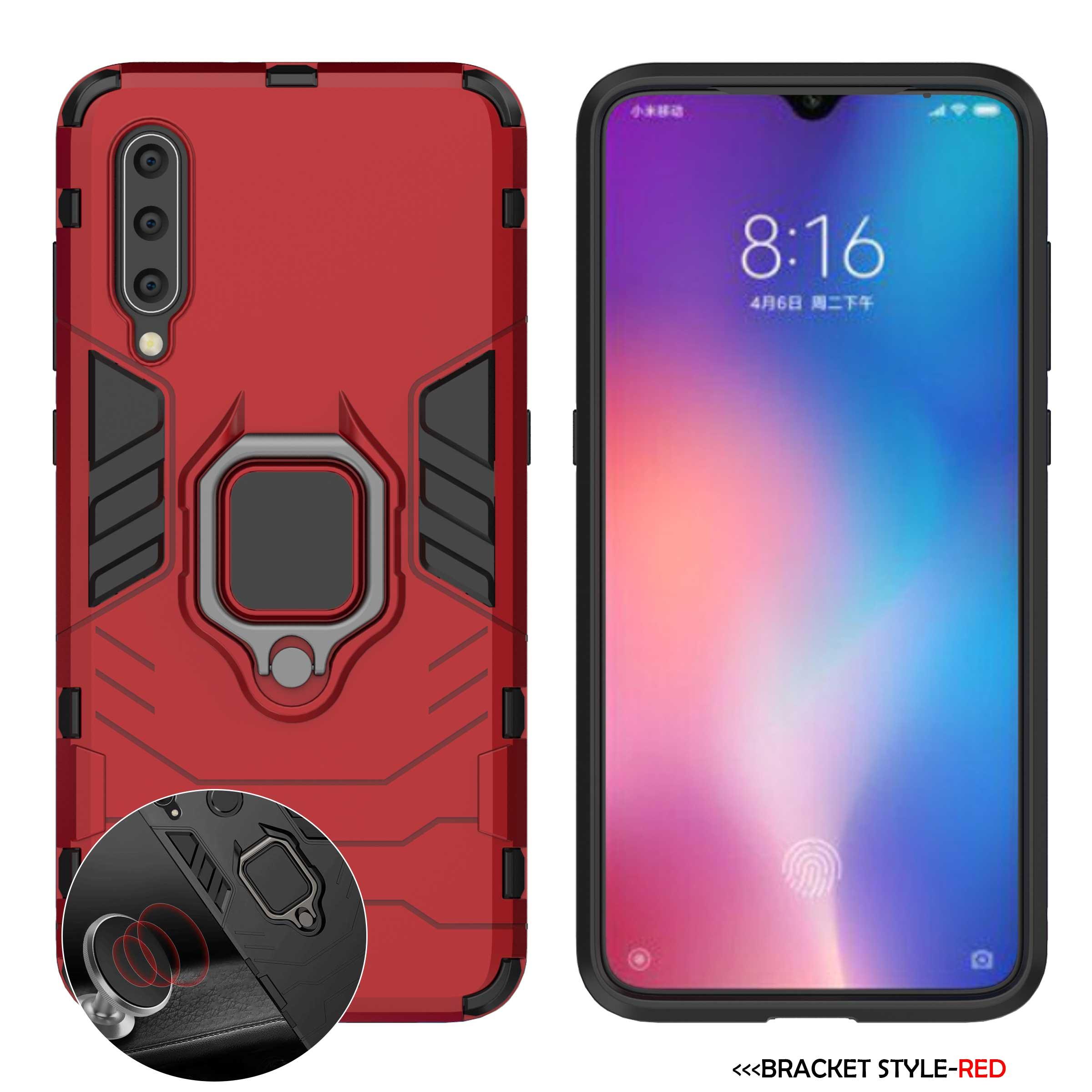 Армированный чехол для Xiaomi mi 9 9T 8 mi 9 SE 5X 6X A1 A2 Lite Max 3 mi X 2 2S F1 Играть Red mi K20 Note 7 6 iPad Pro 7A 4 4X5 Plus чехол для телефона - Цвет: F7-Red