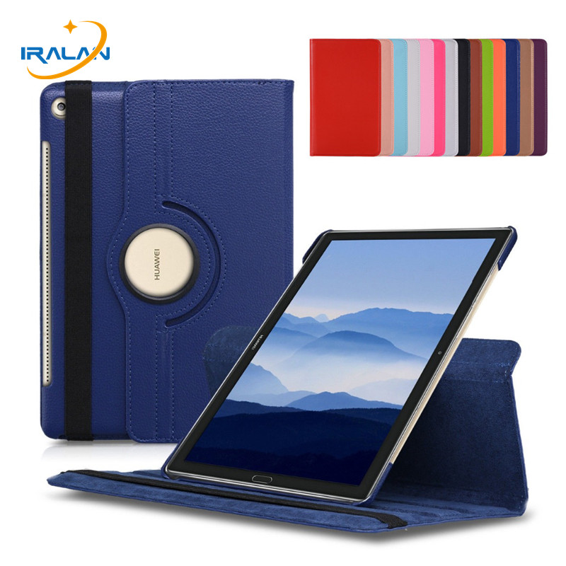 360 Rotating Case For Huawei Mediapad M5 10.8 Folding Stand Cover For Huawei Mediapad M5 Pro 10 10.8 Inch Tablet Funda+Film+Pen