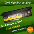 Free shipping 42T4834 42T4835 43R9254 42T4537 42T4536 Original laptop Battery For Lenovo ThinkPad X200 X201 X200S 11.1V 94WH
