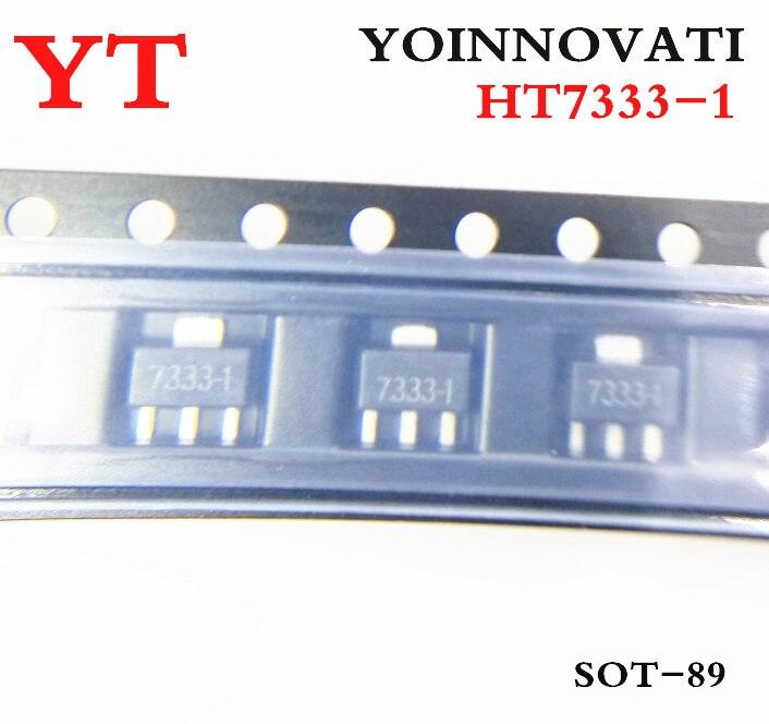 Free Shipping 100pcs/ Lot HT7333-1 HT7333 7333-1 SOT89  IC Best Quality