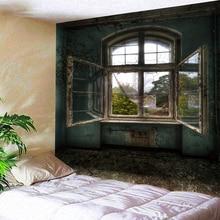 Indian Mandala gobelin ściany wiszące dom okna hipis narzuta 230x180cm Art Decor rzuć