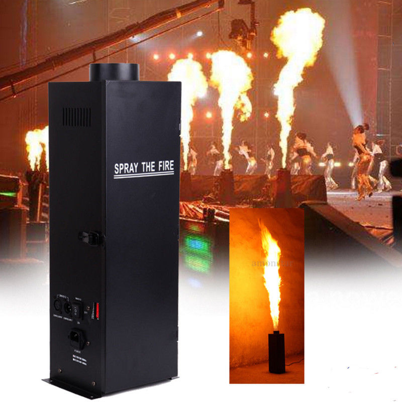 (Ship From USA) 200W DMX Fire Projector Flame Sprayer Thrower DJ Band Stage Machine Show Party