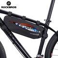 ROCKBROS 3L велосипедные сумки  треугольная труба  рама  водонепроницаемый светоотражающий отсек  MTB  дорожные велосипедные аксессуары
