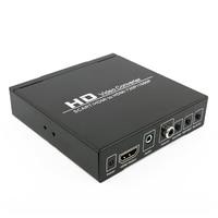 SCART to HDMI Converter Full HD 1080P Video Audio Converter HDTV For XBox EU Plug Upscaler AV PAL NTSC Signal Adapter HD Receive