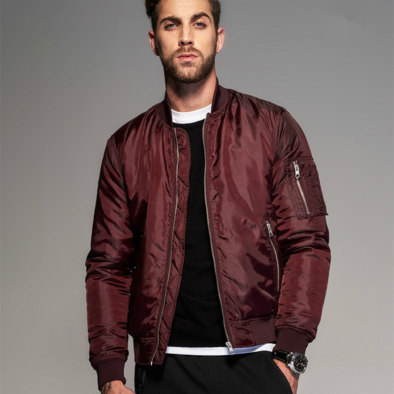 Popular Red Bomber Jacket-Buy Cheap Red Bomber Jacket lots from ...