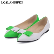 Sexy And Comfortable Women Pointed Toe Shallow Mouth Low Heel Ol Single Flat Shoes Ruffles Simple Shoes NLK-A0050