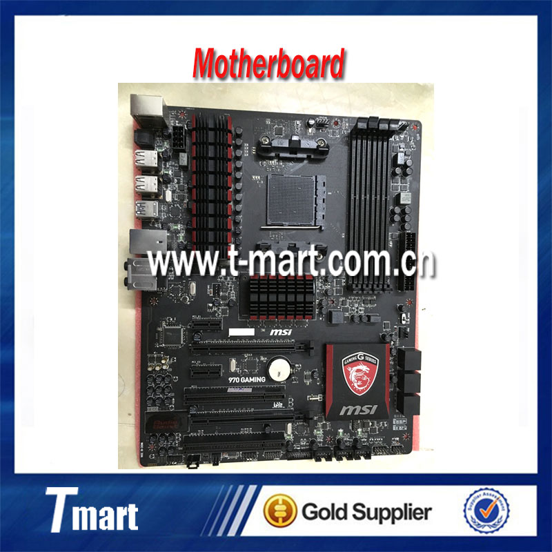 100% Working Desktop Motherboard MSI 970 GAMING System Board Fully Tested And Perfect Quality g41 motherboard fully integrated core 775 cpu ddr3 ram belt 4 vxd ide usb 100% tested perfect quality