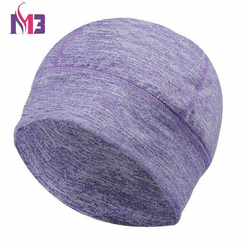 10PCS lot Wholesales New Arrival Women Dome Cap Seamless Women Beanie Hat Bonnet Femme Wig Dome Beanie Skullies Hat in Women 39 s Skullies amp Beanies from Apparel Accessories
