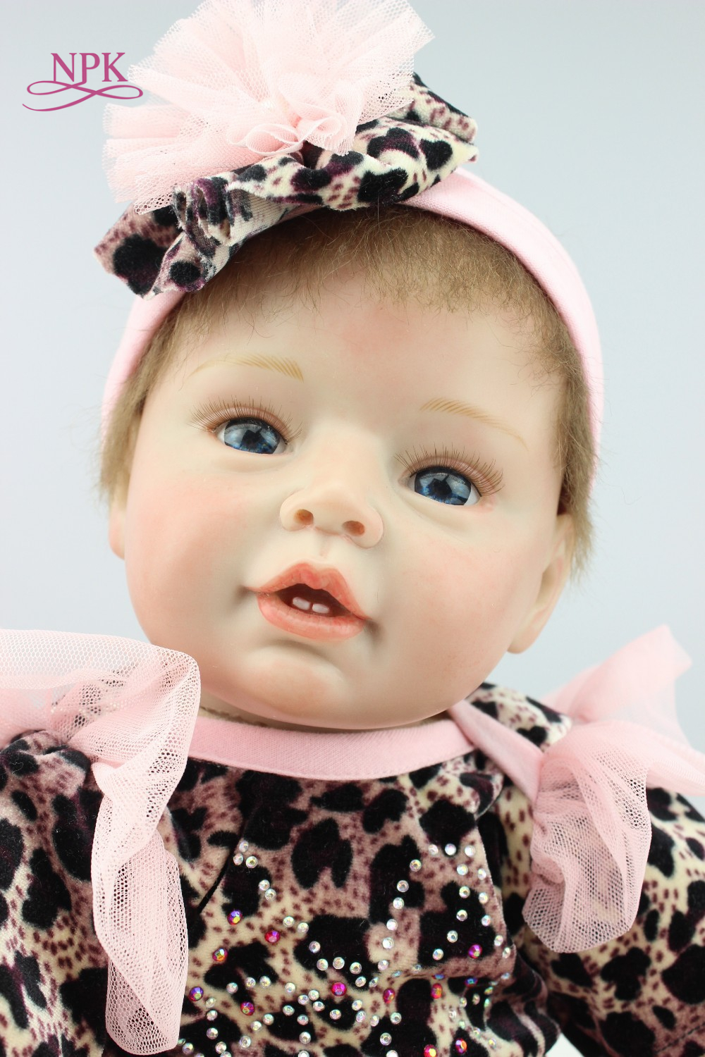 NPK reborn doll with soft real gentle touch wholesale realistic simulation reborn baby doll soft silicone vinyl doll alive reborn doll with soft real gentle touch wholesale realistic simulation reborn baby doll soft silicone vinyl