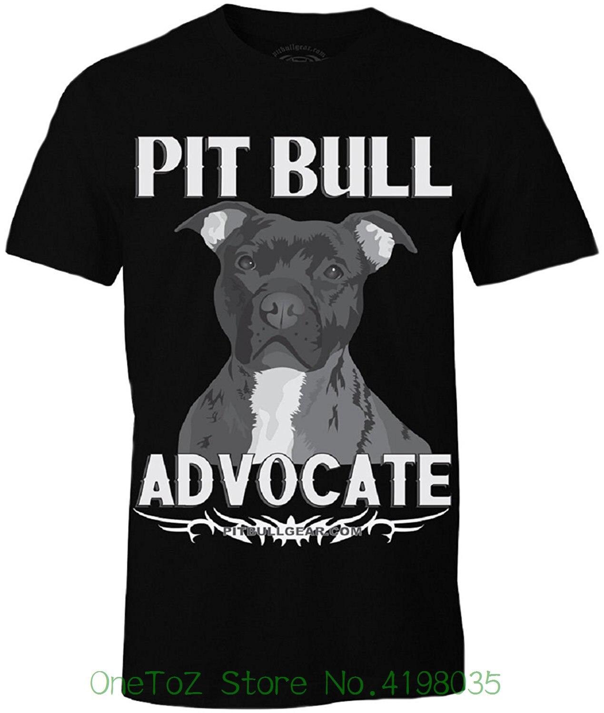 Питбуль адвокат версия Ii Для мужчин s рубашка подарок, Pitbull папа, Pitbull аксессуары Новые 2018 Мужская Мода