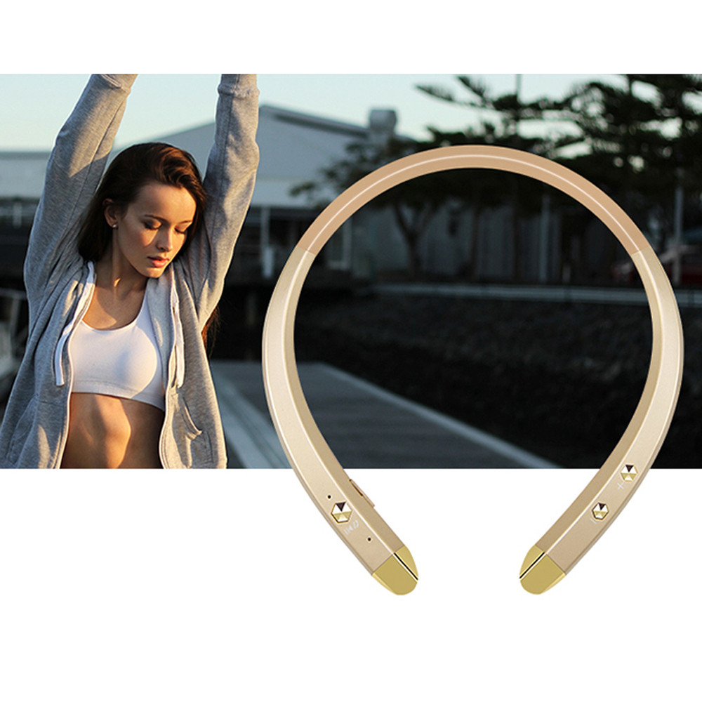 1pc High Quality Stereo Wireless Bluetooth 4.0  Headset Wireless Sport Headphone for Samsung Note 7 Smart Phones #SS