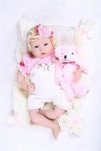 font b Baby b font reborn dolls font b toys b font 22 silicone font
