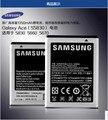 100% nueva marca de la batería recargable para samsung galaxy ace s5830 i579 s5660 gt-s5830 eb494358vu original s5839i gt-s5830i