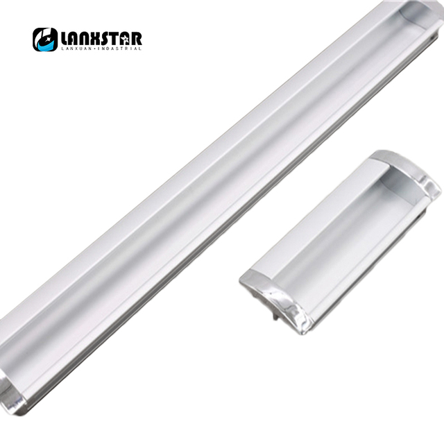 Simplicity Modern Long Aluminum Alloy Concealed Handle