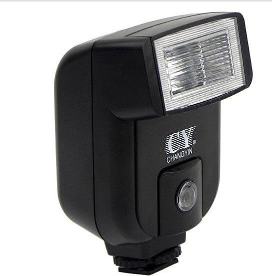 Universal  CY-20 Hot Shoe Flash Light Flashgun with PC Sync Port For DSLR Camera