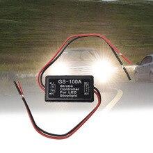 Car Strobe Controller Tail Light Rear Brake Flash Strobe Flash Module Signal Controller Tail Lamp Controller For LED Stoplight цена