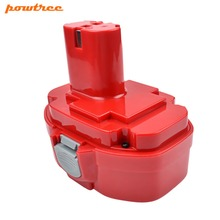 Powtree 3000mAh 18V Ni-MH FOR MAKITA 1822 Rechargeable Battery 1823 1834 1835 192827-3 822 PA18 5620DWA 5036DA ML183 6347D