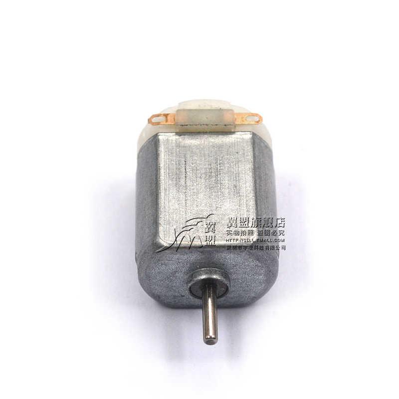 2-PCS בעבודת יד Diy Dc בינוני גודל עבור מיניאטורי 130 קטן מנוע חשמלי רכב ארבעה גלגל כונן צעצועים