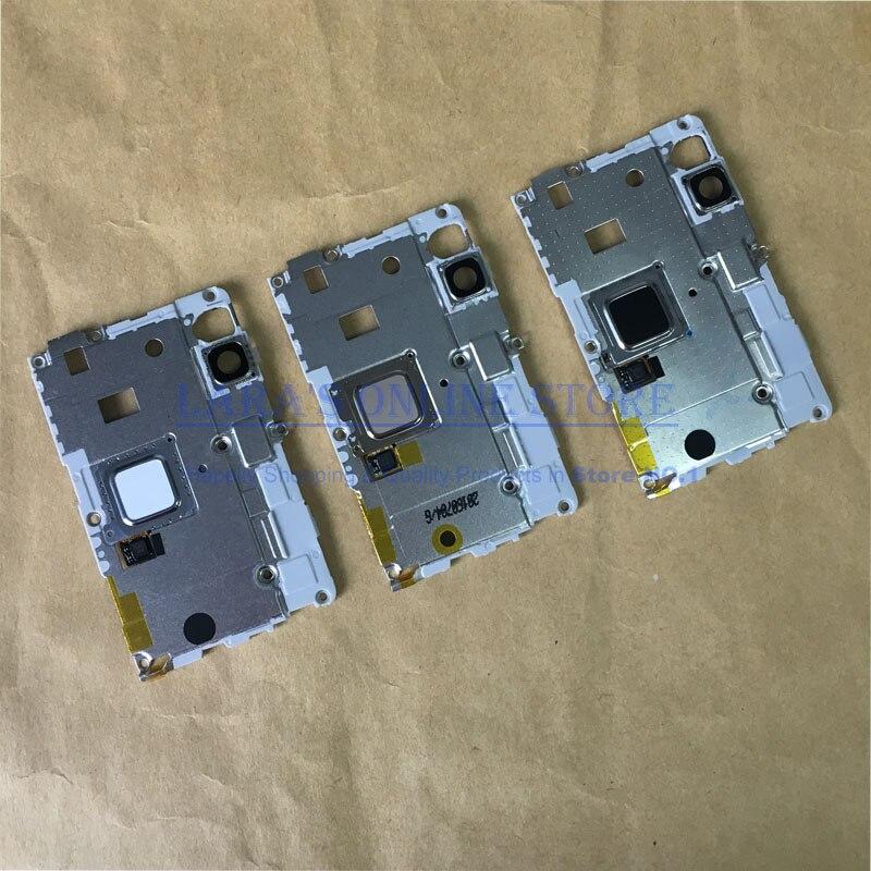 For Huawei P9 Lite G9 Fingerprint Sensor Scanner Camera Lens Frame Holder Chasis Plate Housing Replacement