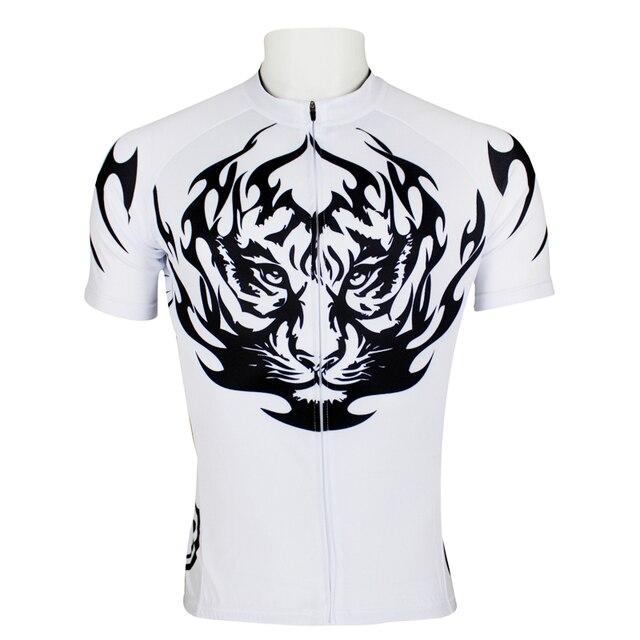 PALADIN Fashion design cycling jersey black and white tiger men short bike  clothes completo ciclismo team bicicletas sportswear db9ba8d0b