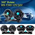12V 360 Degree Rotation Auto Car Vehicle Truck Cooling Air Fan All-Round