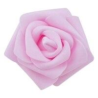 High Quality 100pcs Bag 6cm Foam Rose Heads Artificial Flower Heads Wedding Decoration Green