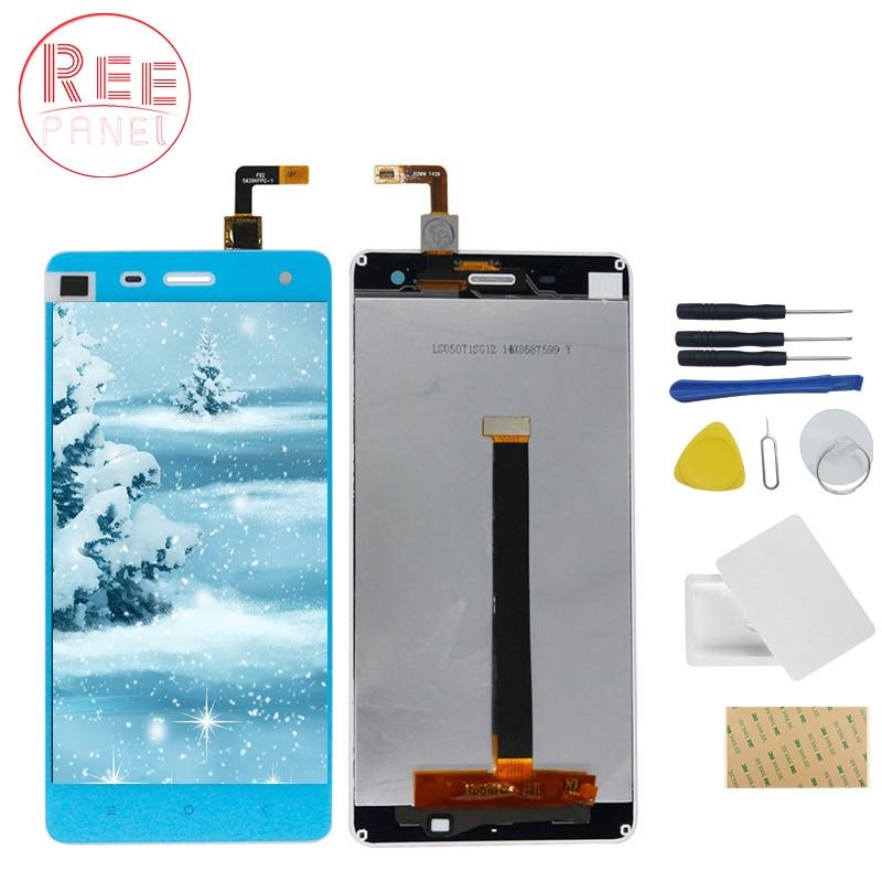 Haute Qualité LCD Écran Tactile Pour Xiaomi Mi4 M4 LCD Affichage Digitizer Assemblée Highscreen tactile panneau + outils de réparation de téléphone ensemble