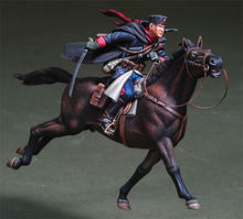 1/35   Russian Cossack Cavalry  toy Resin Model Miniature Kit unassembly Unpainted