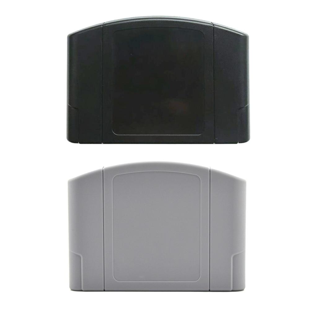 50 pcs De Jeu De Remplacement Couvercle de la cartouche En Plastique Cas pour Nintendo N64 Jeu carte logement