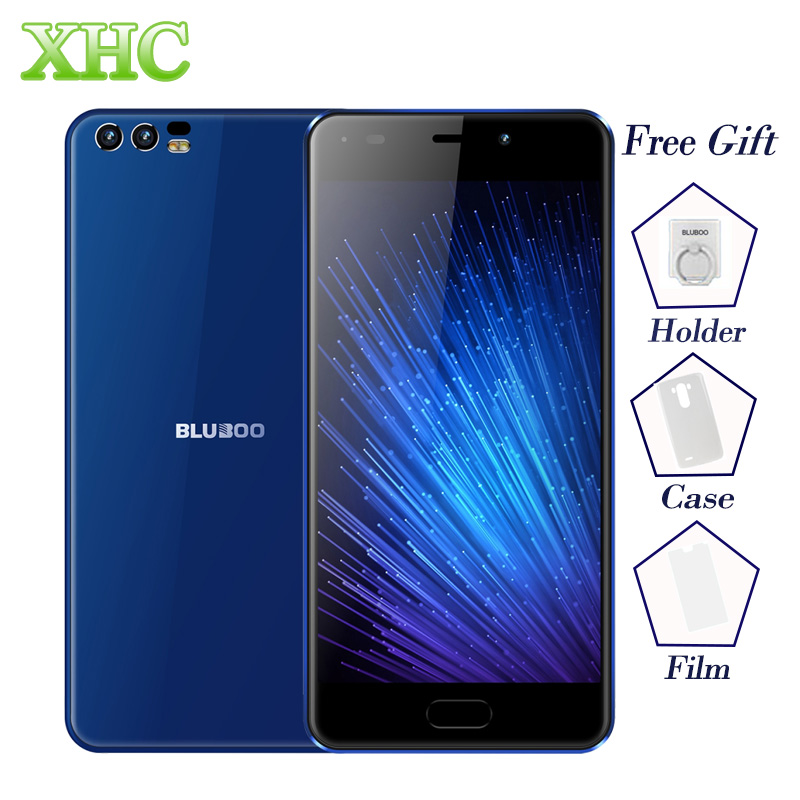 BLUBOO D2 Dual SIM Smartphone RAM 1 GB ROM 8 GB Dual Posteriore telecamere 5.2 pollice Android 6.0 MTK6580A Quad Core WCDMA 3G Mobile telefoni