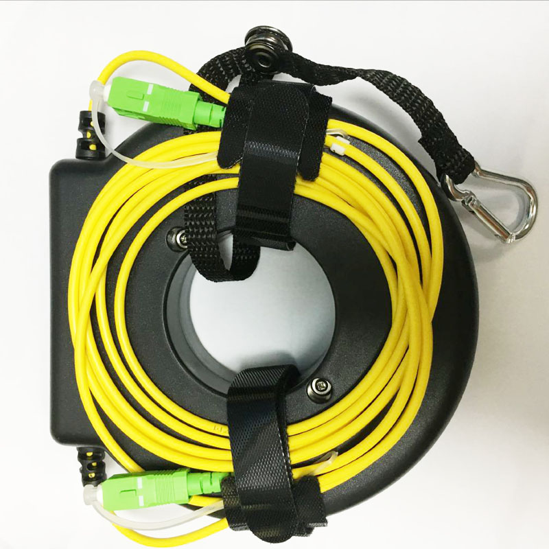 OTDR Launch Fiber Reel Fiber Spool Launch 200m Fiber Fiber Ring SC LC /FC/ST APC/UPC