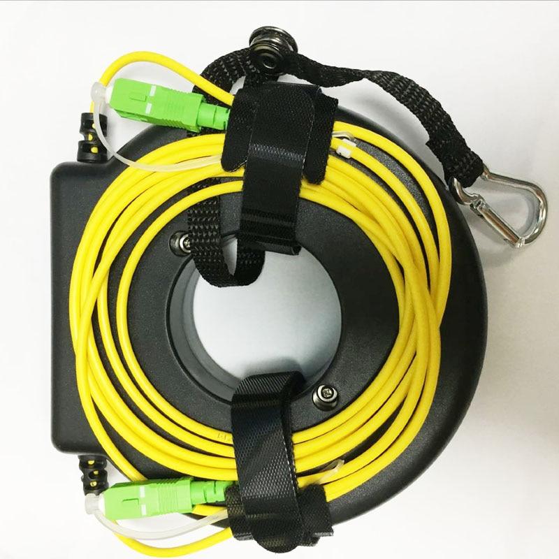 OTDR Launch Fiber Reel Fiber Spool Launch 200m Fiber Fiber Ring SC LC /FC/ST APC/UPC