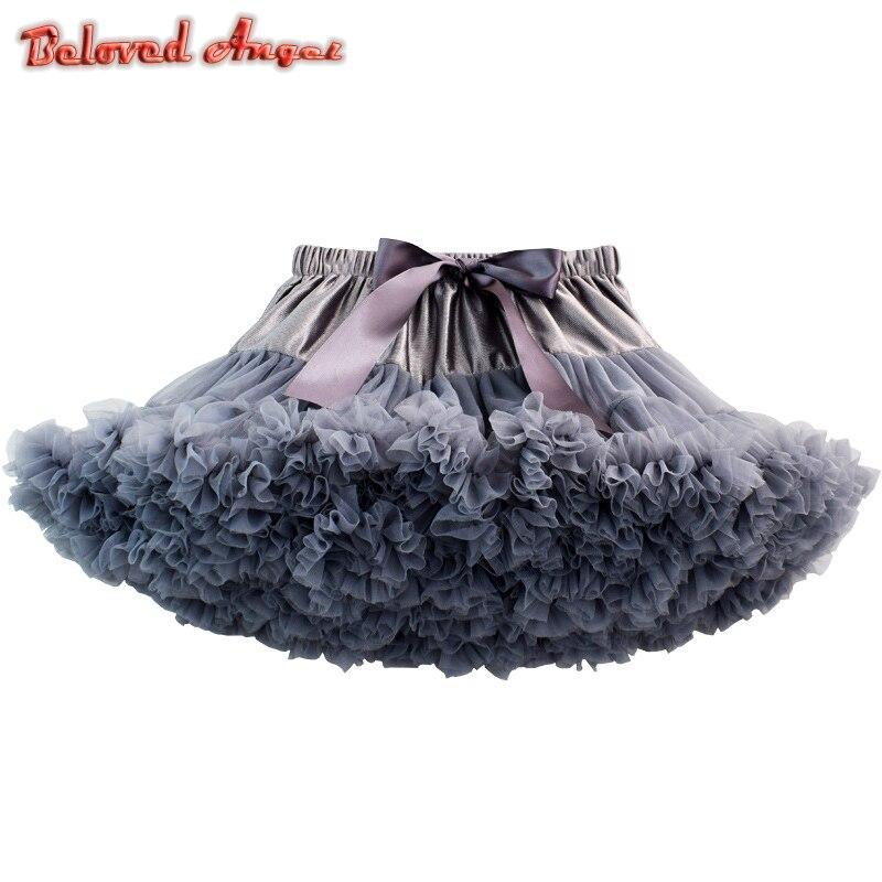 c097edc912 Los niños dulce faldas Tutu faldas para niños del bebé Ballet Pettiskirts princesa  niña vestido de falda ropa de fiesta ropa