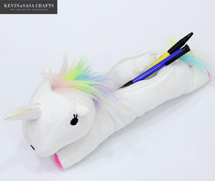 Unicorn Pencil Case Quality Fabric School Supplies Bts Stationery Pencil Bag Gift Pencilcase School Cute Pencil Box School Tools unicorn pencil case kawaii school supplies bts stationery gift cute pencil box pencilcase office school tools pencil cases tools