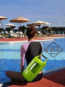 Naturehike Dry-Bag Waterproof-Bag Rafting Tpu-Pack Kayaking Sack Ultralight-View 20L