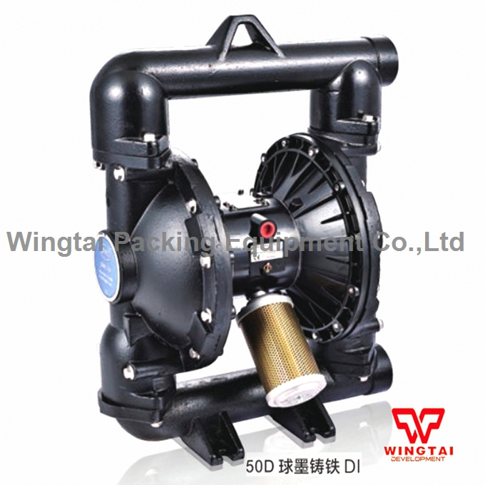 2 Inch PTFE Double Way Air Diaphragm Pump Pneumatic Flexo Ink Water Pump BML-50D