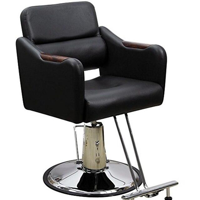 Hydraulique Barber Fauteuil De Coiffure Salon Poste Travail Chaise
