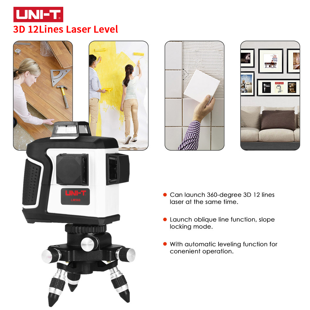 LM560 LM560G 3D 12 Lines Laser Level Self Leveling 360 Horizontal And Vertical Cross Lazer Nivel Level Red Green Laser Beam Line patterns of repetition in persian and english