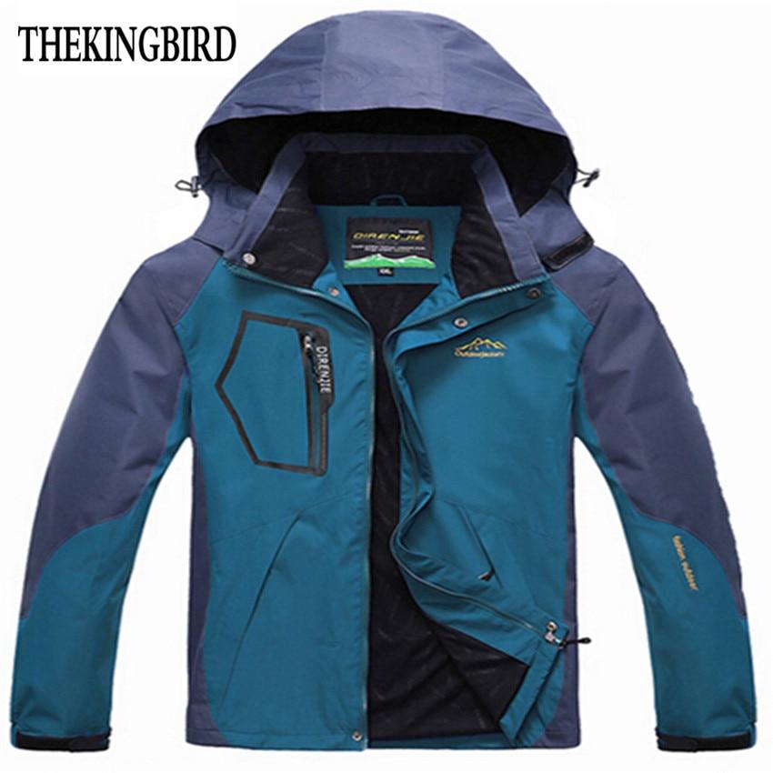 Albastru Windbreaker Jachete pentru bărbați 2016 Jachetă nouă - Imbracaminte barbati