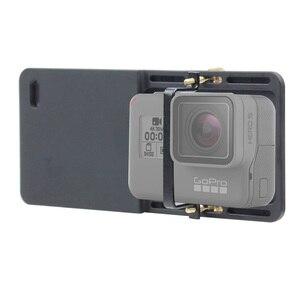 Image 5 - BGNING Adaptador de cardán de mano, placa de montaje intercambiadora para GoPro Hero 7 6 5 3 3 + 4 Yi, cámara para DJI Osmo para Zhiyun Smooth Q Mobile