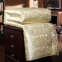 100% Luxury Chinese Silk Quilt Mulberry Comforter Duvet Quilt Blanket Winter Summer Pure Silk Blanket Comforters King Queen Twin
