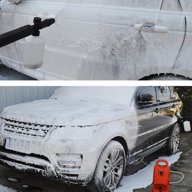 High Pressure Soap Foamer/ Snow foam lance Nozzle/ car washing cleaning shampoo sprayer for Interskol AM100, AM120, AM130