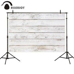 Image 2 - Allenjoy Fotografie Achtergrond Pure White Vintage Hout Board Vloer Muur Achtergrond Foto Studio Photophone Photocall Schieten Decor