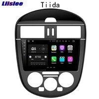 Liislee 2 din навигационная система для Android gps для Nissan Tiida Pulsar C12 2011 ~ 2018 Авто Радио стерео Мультимедиа большой экранный проигрыватель